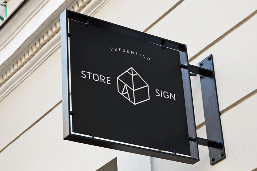 storefront signs how to choose the right sign for your business 1